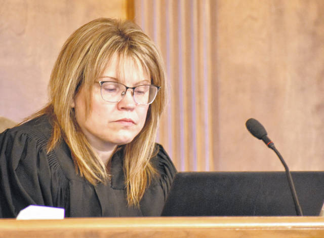 Judge Terri Kohlrieser lectured defense attorneys and considered ordering a mistrial Thursday in the case of Cheyenne Hooper, charged with inflicting injuries upon her young daughter more than two years ago. A defense witness strayed from his stated testimony, prompting prosecutors to request the mistrial.