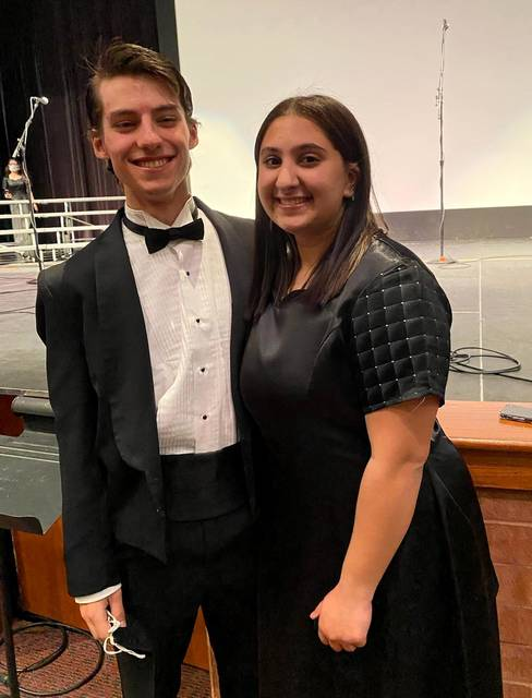 Noah Phillips, left, and Josie Shauf. Submitted photo.