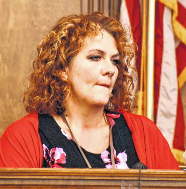 """Nichole Mikesell, an investigator with the Allen County Children Services agency, testified on Wednesday that in her opinion, the level of concern expressed by Cheyenne Hooper over her daughter's injuries """"didn't match the (severity of the) situation."""""""