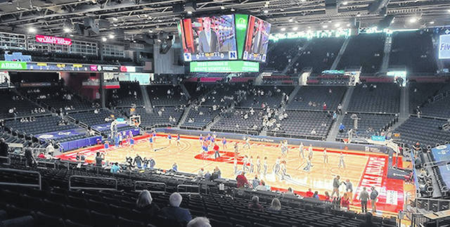 The University of Dayton will seerve as the site for the boys and girls high school state basketball finals for the next three years.