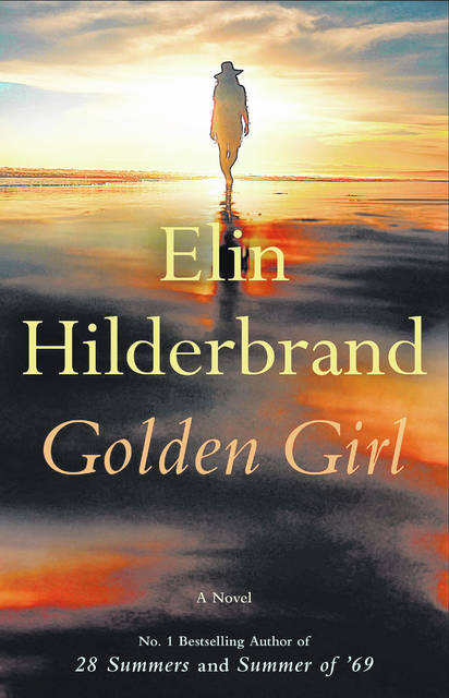 """This cover image released by Little, Brown & Company shows """"Golden Girl,"""" the latest novel by Elin Hilderbrand."""