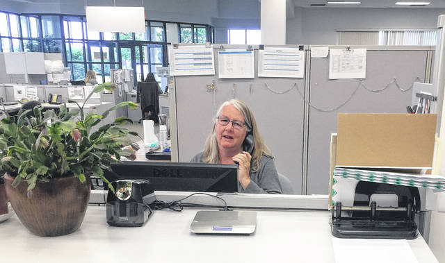 Ginger Hollar started at The Lima News after graduating from Bath High School in 1973 and has worked at the newspaper ever since. She will be retiring at month's end.