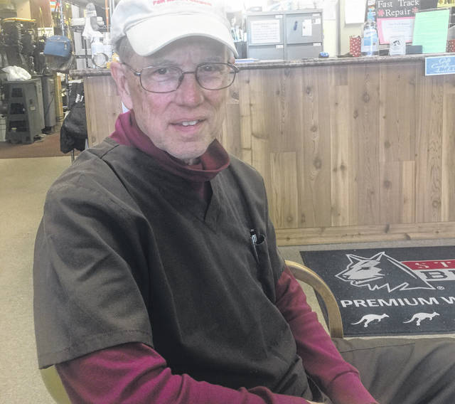 Bob Johns hopes to be running his shoe store well into his 90s.