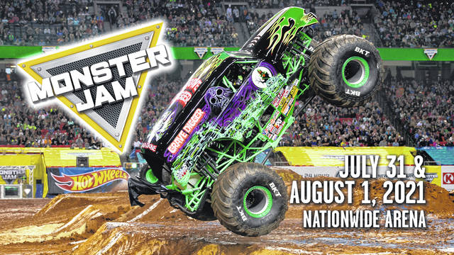 Monster Jam returns to Nationwide Arena for an action-packed weekend of family fun on July 31 and Aug. 1. Tickets, starting at $20, go on sale June 29 at ticketmaster.com.