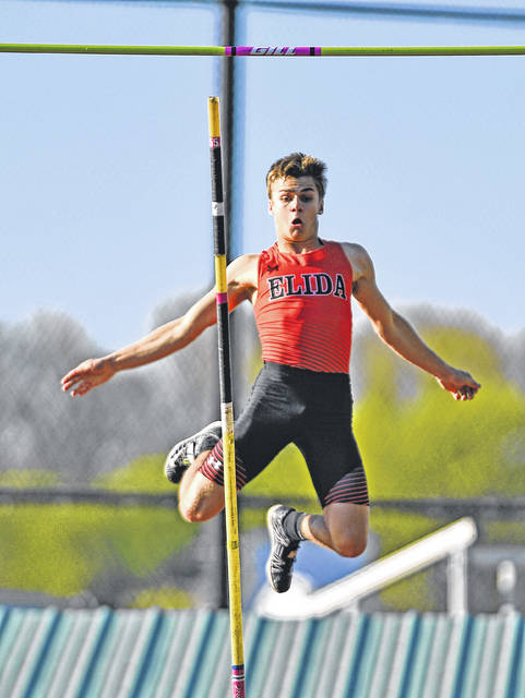 Elida's Conner Douglass finished third at the Amherst Division I regional to qualify for the state meet.