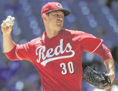 Cincinnati's Tyler Mahle surpassed the 10-strikeout mark in the Reds' 2-1 victory Wednesday against the Brewers in Milwaukee.