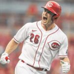 Baseball: Reds hit 5 homers, extend Rockies' road woes