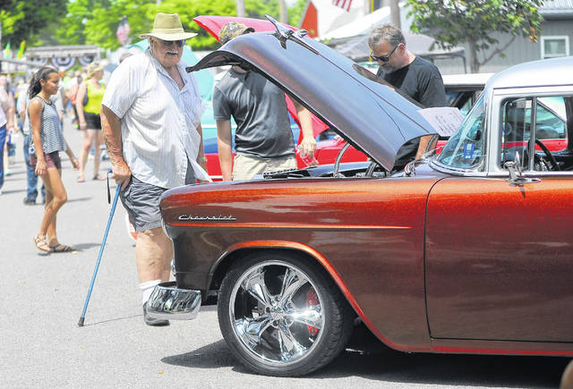 The car show winners will be revealed Saturday at 4:30 p.m. at the Pork Rind Heritage Festival in Harrod.