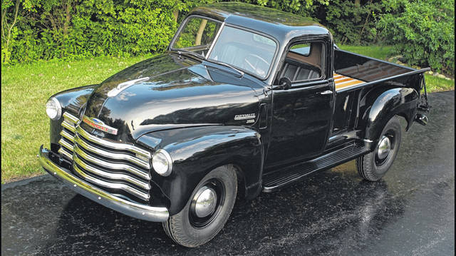 Michael and Pam Ayers, of Lima, purchased this 1949 Chevy 3/4 Ton Pickup about 12 years ago. The truck is all original and has not been restored. It has been painted, but that's it. There are 30,000 miles on the truck.