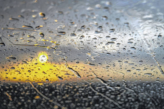 The National Weather Service says Northeast Ohio has gotten four more inches of rain than average so far this month.