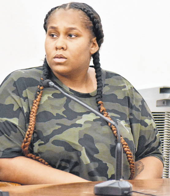 Daysha Lane, 24, of Lima, was sentenced Wednesday to a minimum of seven years in prison following her conviction by a jury last month on charges of possession of cocaine and heroin. Lane maintained her innocence during the sentencing hearing and said she will appeal her conviction.