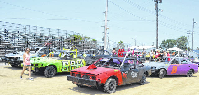 Drivers from over Ohio descended on the Allen County Fairgrounds for the King of Ohio Demolition Derby.