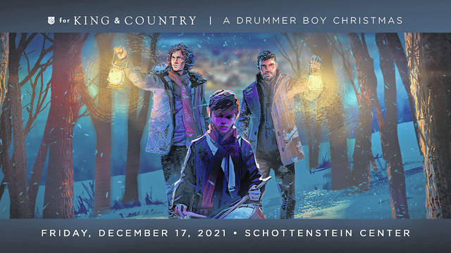 Four-time Grammy award-winning duo for King & Country brings early Christmas cheer to Columbus with an annual holiday event. Tickets for A Drummer Boy Christmas Tour go on sale Friday, July 30.