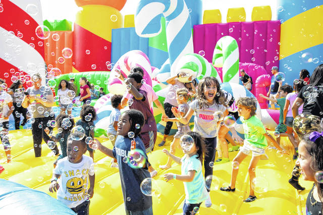 The Big Bounce America Tour – four massive inflatable attractions including The World's Biggest Bounce House – is headed to Cleveland this summer.