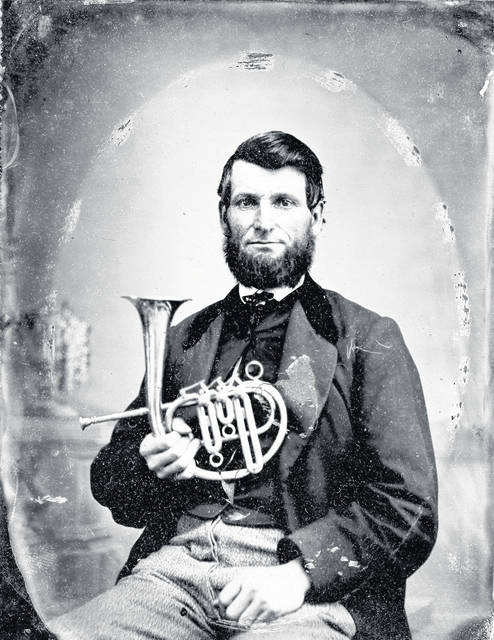 Charles M. Townsend concocted and sold his own patent medicines, as well as playing the cornet in his own entertainment troupe.