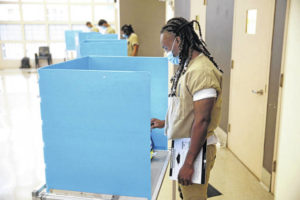 Many in jail can vote, but exercising that right isn't easy