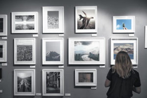 Art exhibits in the Lima area