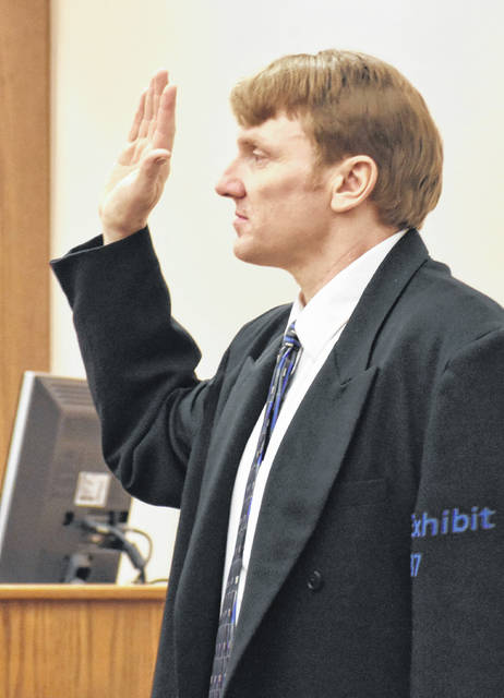 John Sanders, acting as his own attorney, was also the lone witness for the defense during his jury trial Wednesday in Allen County Common Pleas Court.