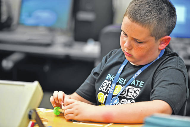 Kids get creative at Rhodes State's summer camps - The ...