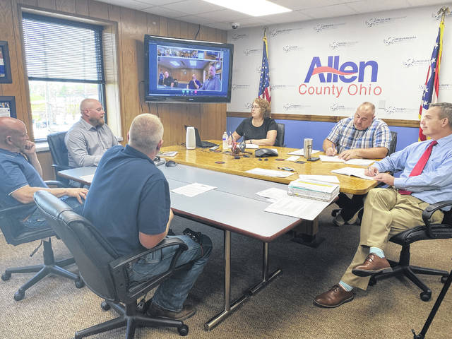 Allen County Commissioners met with Neighbors Against Big Solar (NABS) on Thursday to discuss a possible solar project coming to Perry Township.