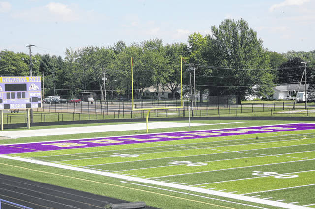 Ada is the lastest team to put in turf at War Memorial Park.