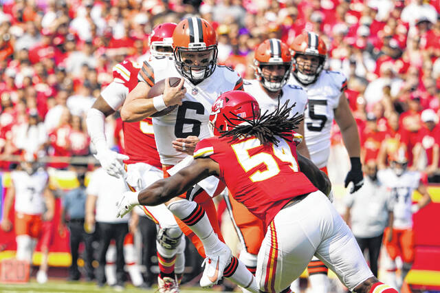 Mayfield delivers strong message to Browns