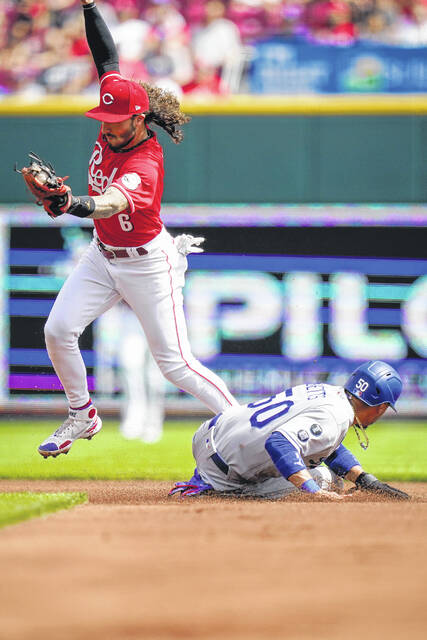 Dodgers top shaky Reds