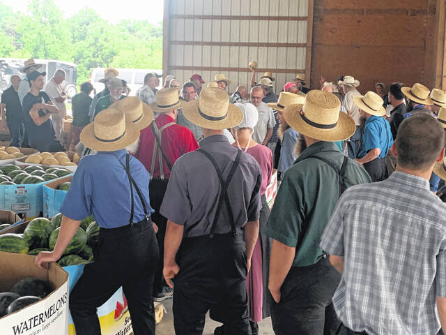 Hauling produce in trucks and wagons, farmers from Chester and Lancaster counties meet buyers from Philadelphia and the suburbs, jamming the Oxford Produce Auction three days a week.