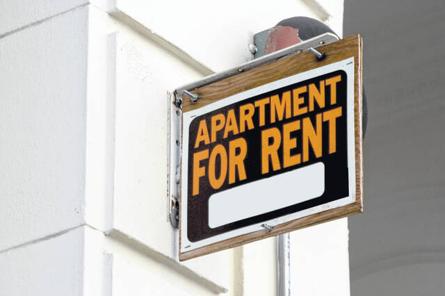 The national average rent in multi-family buildings rose 10.3% from a year earlier to $1,539 — the first double-digit rise in the dataset's history — after a $25 increase in August. (Dreamstime/TNS)