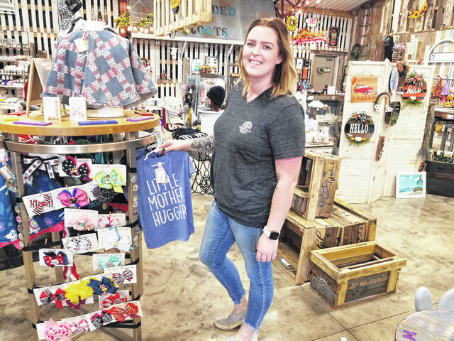 A new consignment shop, Blended Roots, is now open at 242 E. Cherry St. in Bluffton.