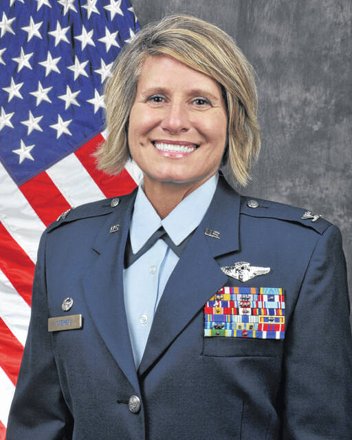 Col. Roberta 'Bobbie' Stemen of Lima retired in 2021 after 36 years of service to the United States Air Force. Most of her years in the service were spent as a flight nurse, taking care of soldiers all over the world.