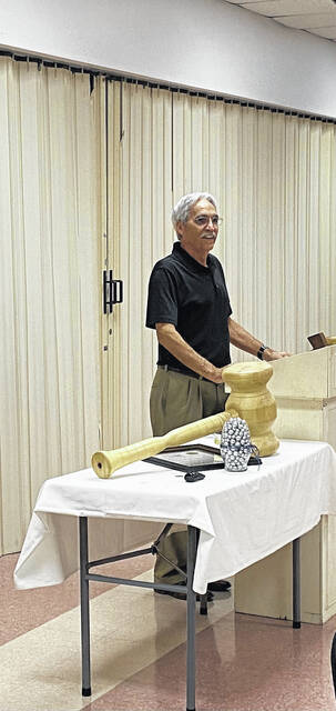 Longtime Allen County Probate and Juvenile Court Judge Glenn Derryberry got his official send-off on Friday afternoon. He retired in January, with the pandemic delaying the chance for his colleagues to recognize his work.