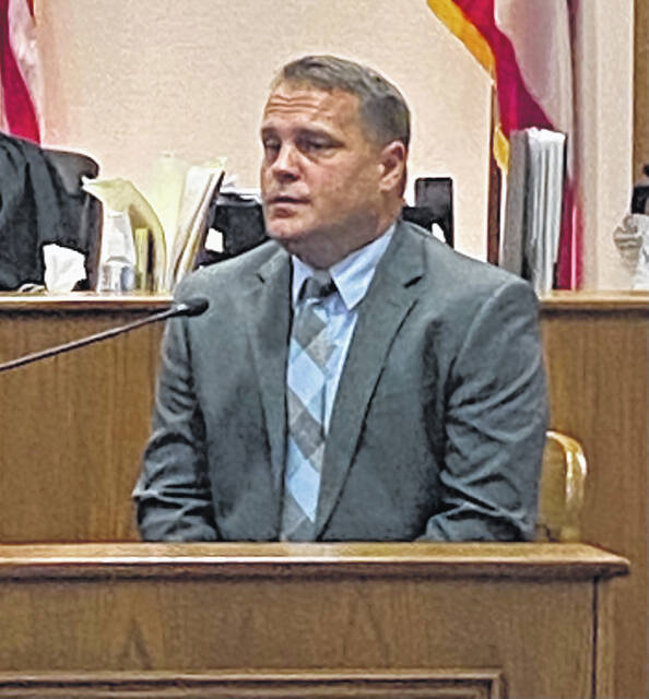 Lima Police Department Detective Steve Stechschulte was the final witness in the case. He described the interview in which Alves confessed to both of the killings.
