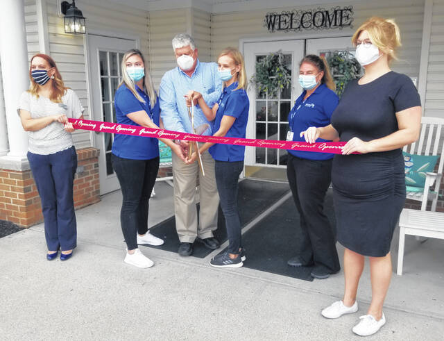 A Lima/Allen County Chamber of Commerce ribbon-cutting ceremony Monday welcomed Genesis Rehab Services to Lima.
