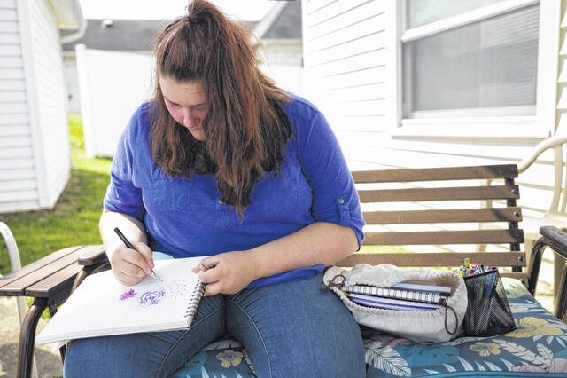 A determined advocate for mental health, Destiny Whiting, 17, of Wellston in Jackson County, is undeterred by the social pressure of high school to blend into the crowd and not draw attention to mental health. She finds solace in writing and often tells her friends who are struggling that she's just a phone call away.