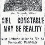 Reminisce: Lima's first 'woman constable'