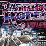 Patriot Rodeo at fairgrounds to commemorate 9/11