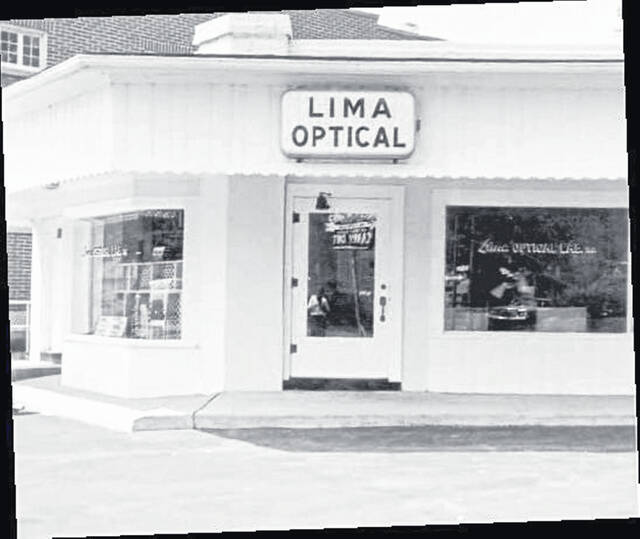 Roy Miller operated an optical shop in Lima for four decades.