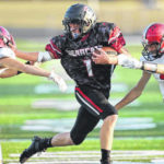 High school football: Spencerville grinds out NWC victory against Bluffton