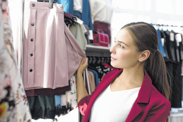 Clothing stores are noticing employees' shifting preferences for work attire due to the pandemic.