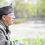 WWII re-enactors teach history lessons