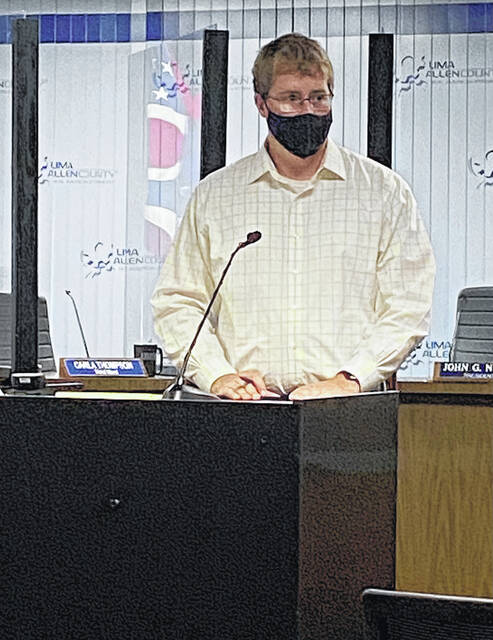 Allen County Public Health Commissioner Brandon Fischer provided a COVID-19 update for the county on Wednesday, highlighting the availability of COVID vaccine booster shots becoming available for some residents.