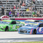 Larson wins at Texas for 1st spot in NASCAR's championship 4
