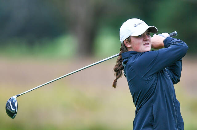 Lima Central Catholic's Bridget Mulcahy is making her third trip to state and looking to add another state title to the Thunderbirds' resume.