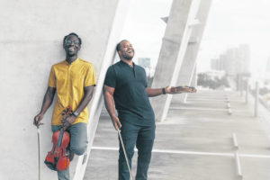 'Bach meets Cardi B' group Black Violin performs Thursday in Lima