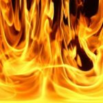 Garage fire investigated in American Township