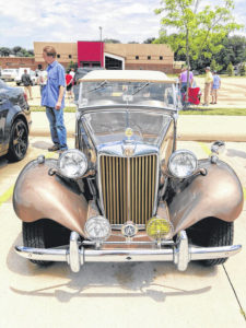 Real Wheels: '52 MG TD Mark II finds way to winery