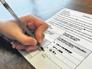 The write-ins: Candidates not listed on ballot face long odds