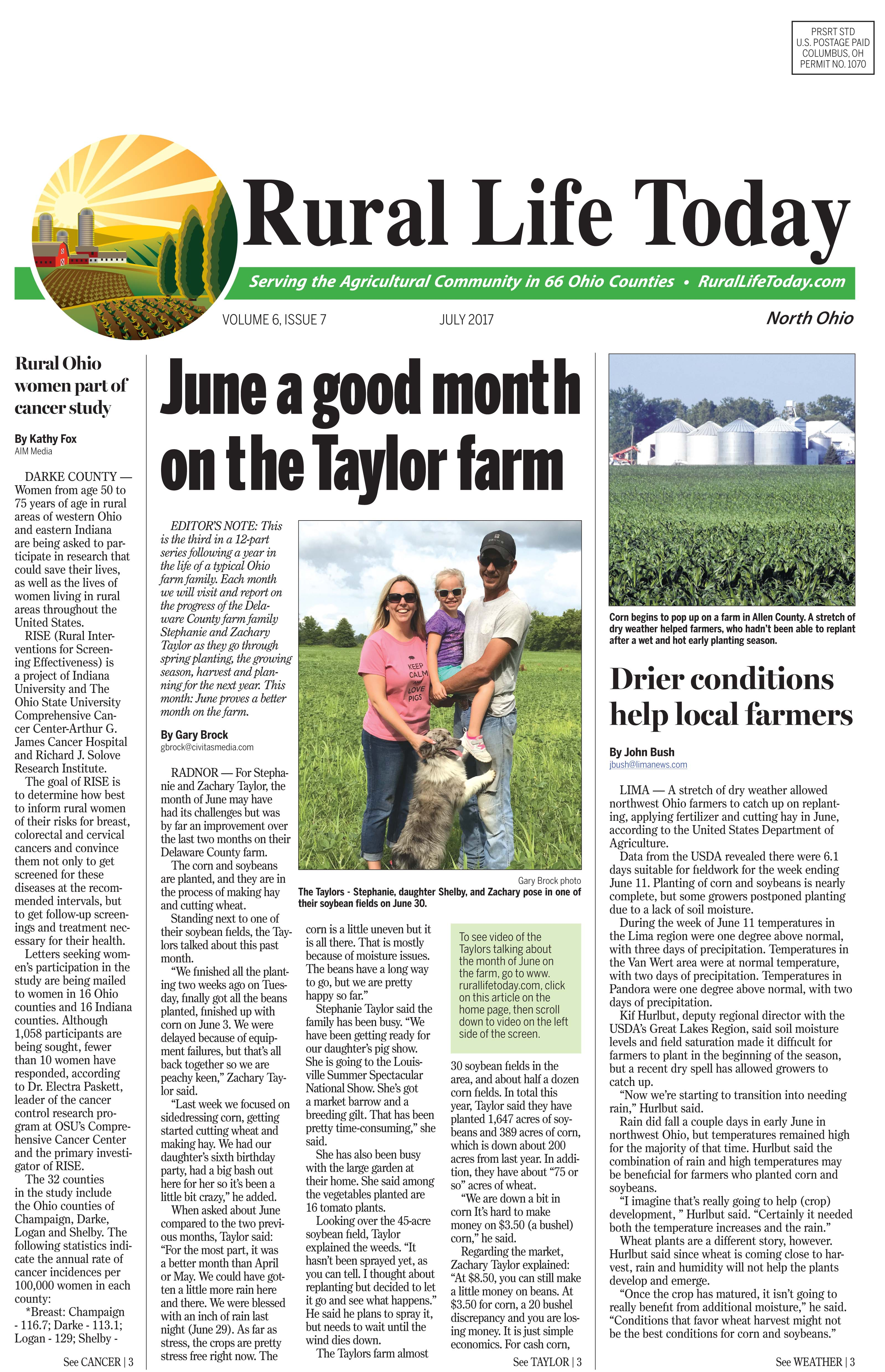 Rural Life North July 2017 Rural Life Today Www