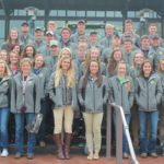 Parkway FFA members at the 90th annual national convention.